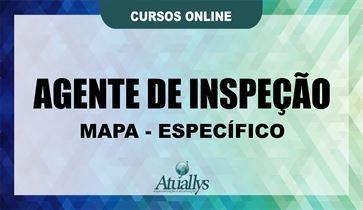 AGENTE DE INSPEÇÃO - MAPA - ESPECIFICO