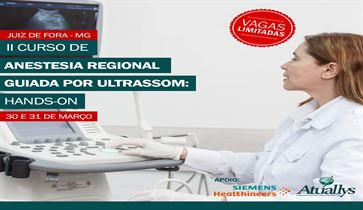 Anestesia Regional guiada por Ultrassom: Hands-on