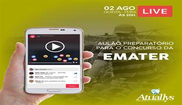 AULÃO GRATUITO- CONCURSO EMATER