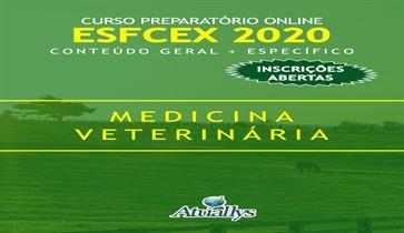 Curso Preparatório para o Concurso do Exército ESFCEX - Médico Veterinário  Extensivo 2020
