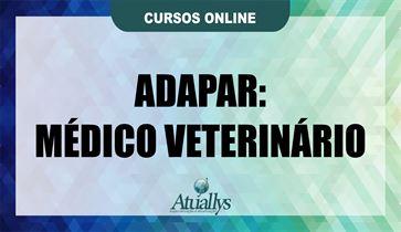 ADAPAR- MÉDICO VETERINÁRIO