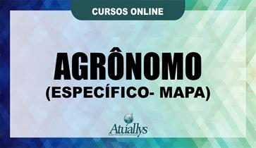 AGRÔNOMO (ESPECIFICO) - MAPA ONLINE
