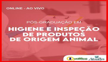 Pós Graduação- Higiene, Inspeção e Tecnologia de Produtos de Origem Animal