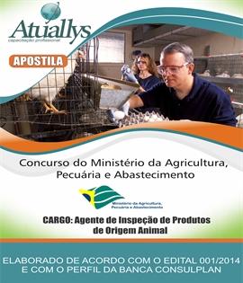 Atuallys Capacitação Prof. Agente de Inspeção de Produtos de Origem Animal 78cc954c490a4