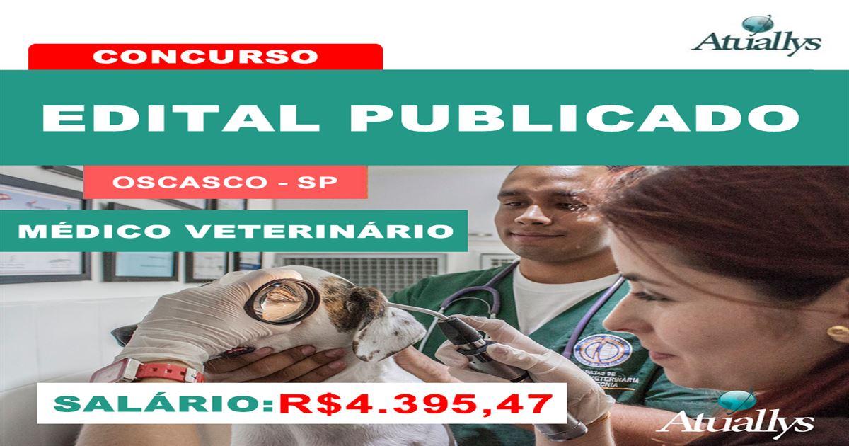 Publicado edital em OSASCO-SP com vagas para Veterinário