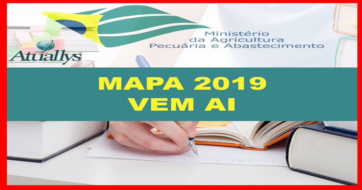MINISTÉRIO DA AGRICULTURA faz solicitação para Concurso com 1700 vagas